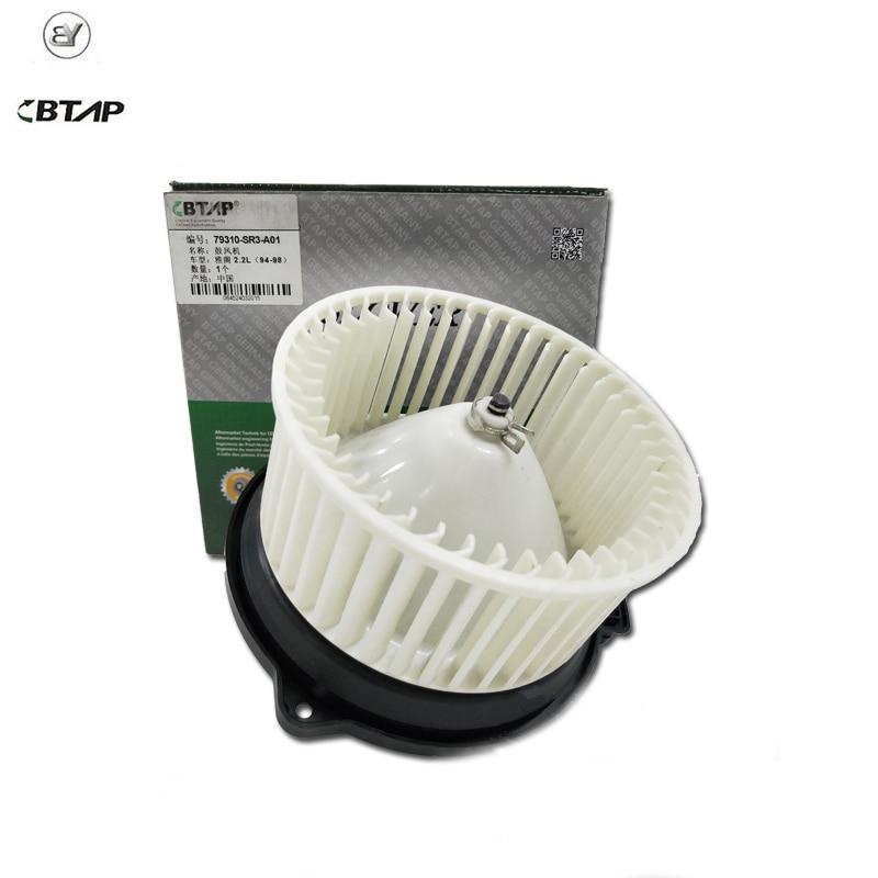 BTAP New HVAC Heater Blower Motor For Honda Acura Civic Integra Accord 2.2L 79310SR3A01 79310 SR3 A01 Original Equipment Quality цены онлайн