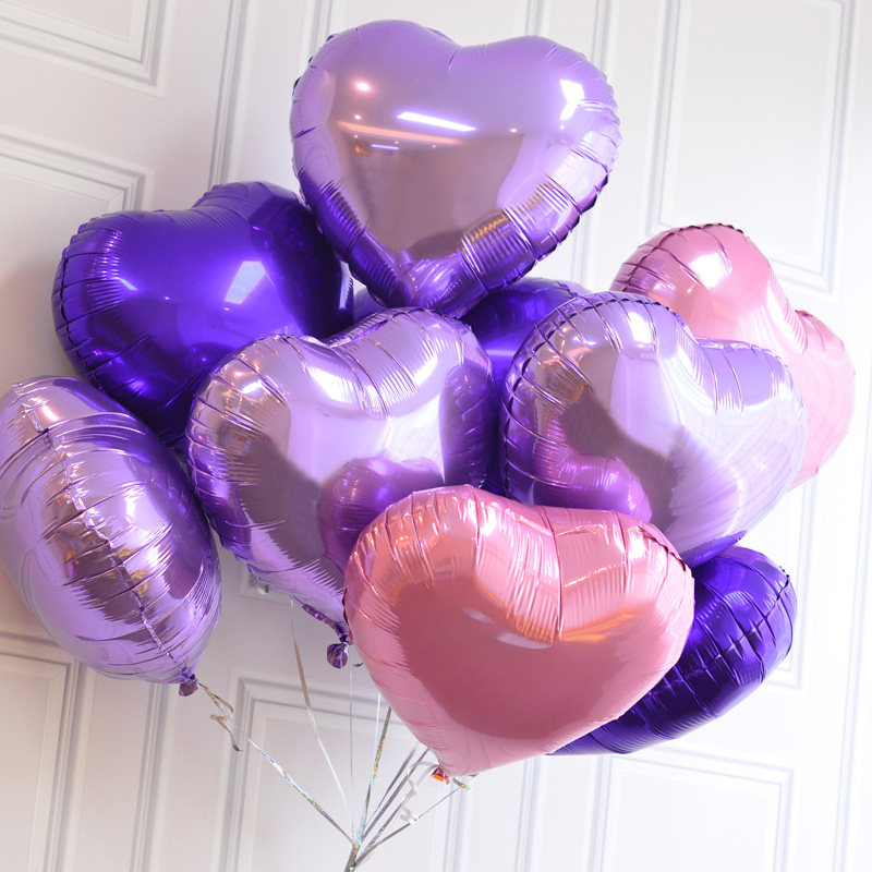 1 pc 18 inch Romantic Wedding decoration Foil Helium Balloons Birthday Wedding B