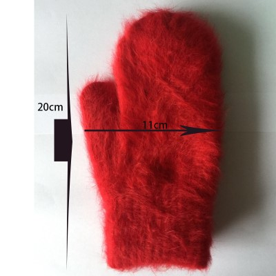 2015-Winter-New-Arrival-Women-Soft-Wool-rabbit-hair-Warm-Knit-Gloves-Fashion-Lovely-Warmer-Girls_