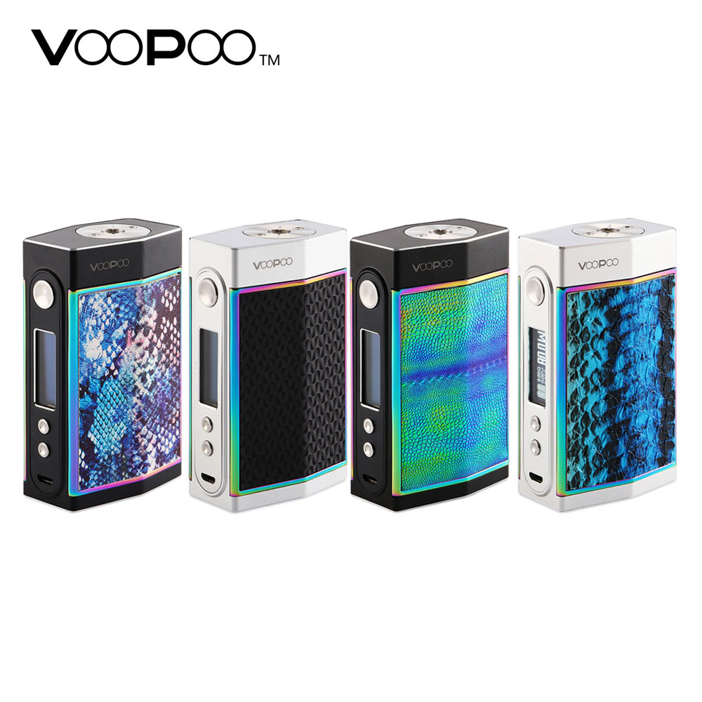 New Original 180W VOOPOO TOO Box MOD with Double Sidesilp Covers & Latest GENE.FAN Chip No 18650 Battery Vs VOOPOO Drag Box Mod