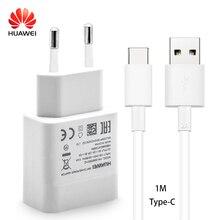 Huawei P9 Nova Lite fast Зарядное устройство оригинальный 9V2A заряда быстрого перемещения стены адаптер Тип-C USB кабель Honor 8 9 Note8 V8 V9 зарядки