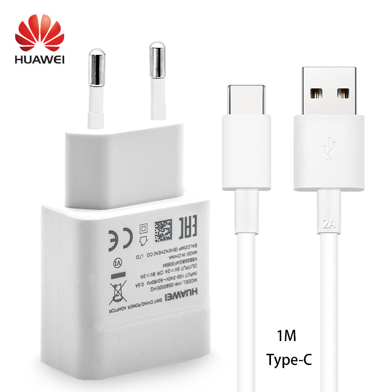 Huawei P20 P10 pro lite Quick Charger Adapter 9V2A note 8 9 V8 V9 P9 Plus New Travel Wall Type of Charge-C USB Type C cable