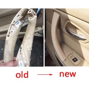 Image 3 - Оригинальная внутренняя панель ручки двери для BMW E90 E91 для BMW 3 Series Sedan вытяжная накладка 51417230850 51419150335 51419150340