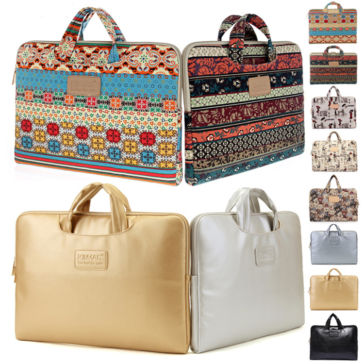 Bohemian 13 14 15 15.4 15.6 inch Laptop Carrying Case Computer Notebook  Handle Bag Pouch For Macbook Air Pro 13 15 Lenovo Dell 3e7ef7443