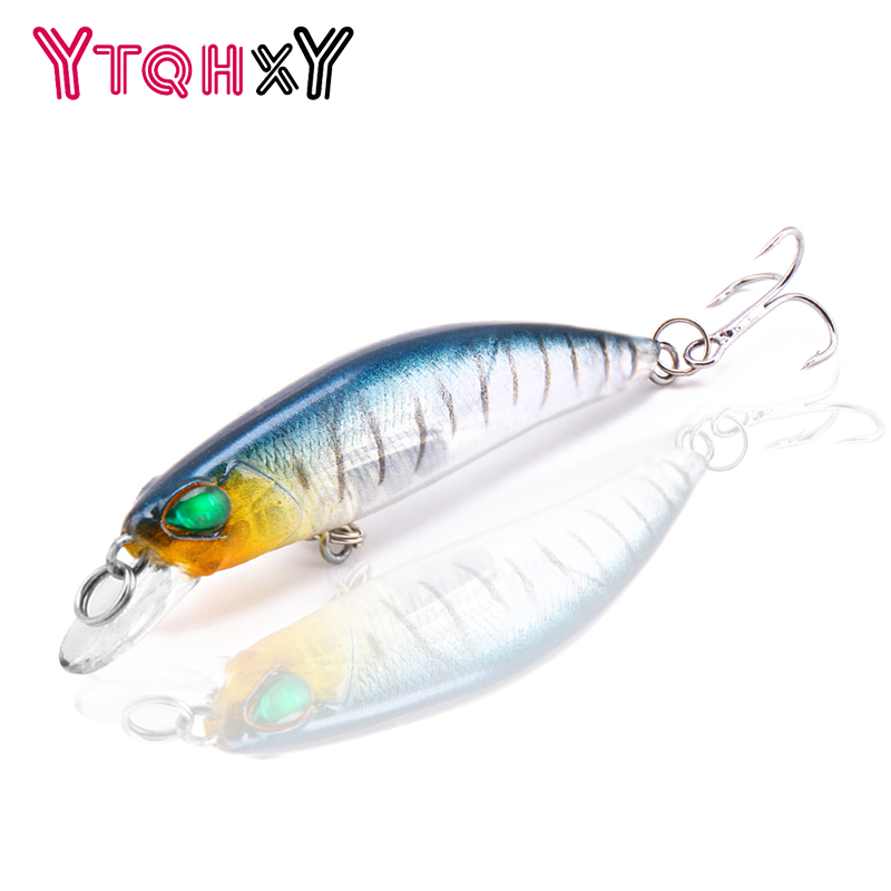1Pcs 6.5cm 4g Minnow Fishing Lure Wobblers Crankbait  artificiais para pesca Japan Hard Bait Swimbait fishing tackle YE-304 1pcs 12cm 11 5g fishing lure bass bait minnow lures 6 hook iscas artificiais para pesca crankbait fishing tackle zb34