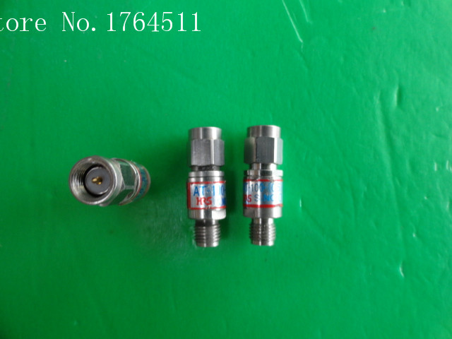 [BELLA] HRS AT-100-0.5 DC-18GHz 0.5dB 2W Precision Coaxial Fixed Attenuator SMA  --2PCS/LOT