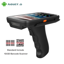 4G Handheld PDA Android 7.0 POS Terminal Touch Screen 2D Barcode Scanner Wireless Wifi Bluetooth GPS Barcode Reader