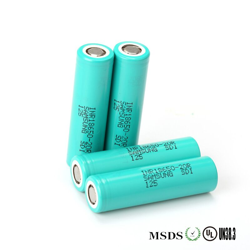 For SAMSUNG INR 18650 20R 3.6V 20AH 2000mAh Dynamic Lithium ion Li ion Rechargeable Chargeable