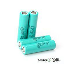 Para SAMSUNG INR 18650-20R 3.6 V 20AH Célula de Bateria de 2000 mAh Li-ion Recarregável de iões de Lítio Dinâmica Exigível (O carregador)