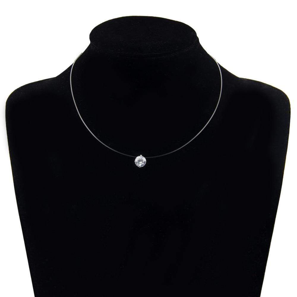 fishline line necklace