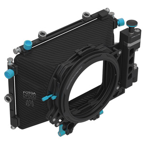 Image 3 - FOTGA DP500III Pro DSLR matte box sunshade with donuts filter holders for A7 II A7RII A7S II BMPCC 5DIII 15mm rod rig