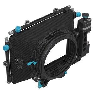 Image 3 - Fotga DP500IIIプロデジタル一眼レフマットボックスサンシェードでドーナツフィルターホルダーa7 ii A7RII a7s ii bmpcc 5 5diii 15ミリメートルロッドリグ