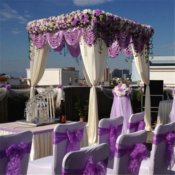 9.8ft * 9.8ft * 9.8ft Lilac square canopy drape wedding decoration wedding stage & 9.8ft * 9.8ft * 9.8ft Lilac square canopy drape wedding decoration ...