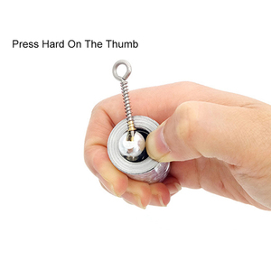 Image 4 - Palo mágico retráctil de 1,1 M, juguete elástico que aparece en Metal, bastón, bufanda, palos, accesorios para mago TY0334