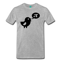 Pi Day Cute Bird Pi Men S Premium T Shirt 2018 Summer T Shirts For Men