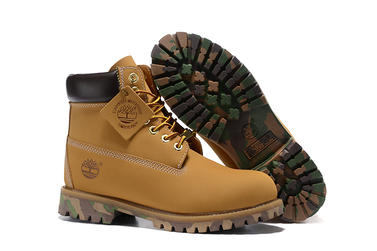 TIMBERLAND Women 10061 Military Camouflage Colorful Bottom Ankle Boots,Woman Timber Wearable Motorcycle boots Casual Shoes 36-40 1