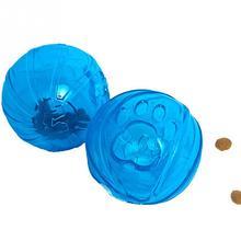 Dog crystal drain water ball pet toy intelligence Feeding Food Ball Training Chew Toys 6.5cm