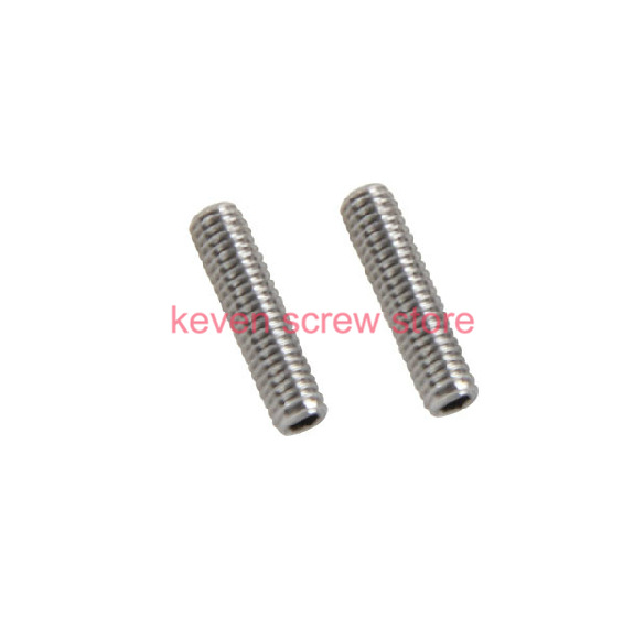 все цены на  50pcs/Lot M3x4 mm M3*4 mm 304 Stainless Steel Hex Socket Head Cap Screw Bolts set screws with cup point  онлайн