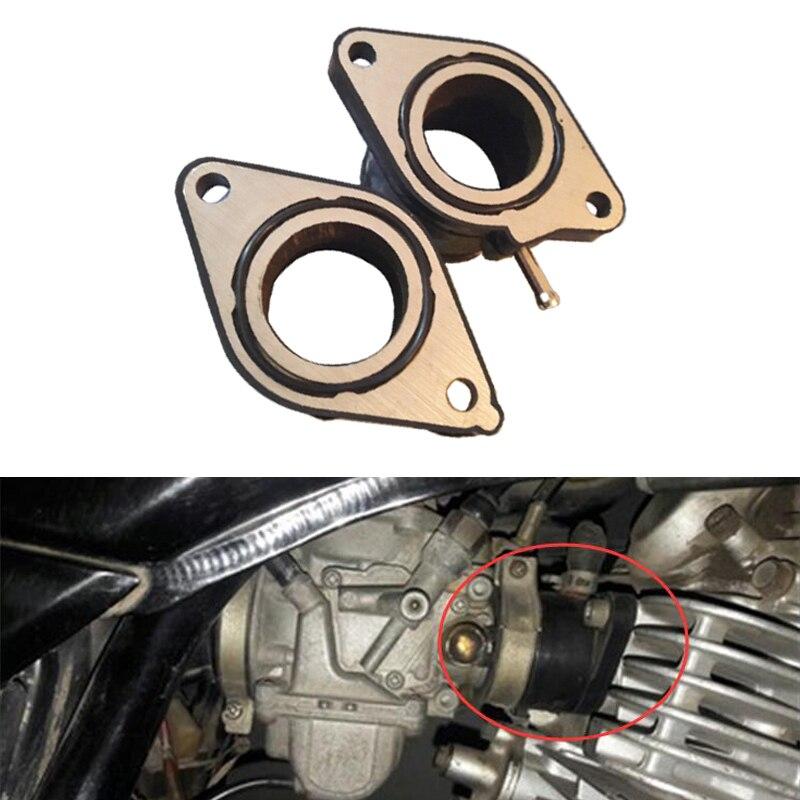 Carburetor Intake Interface Carb Adapter for Yamaha TT600 XT600 XT600Z XT600E US
