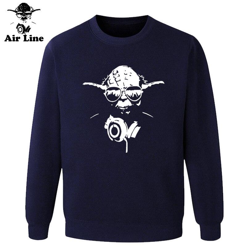 Women & Mens Yoda Cool Dj Hip Hop Star Wars Darth Vader Hoodies Male Cotton Short Sleeve Sweatshirts Funny Print Shirts