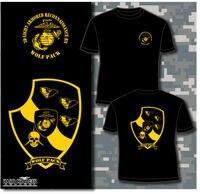 2018 Hot sale Marine Corps 3rd Light Armored Reconnaissance BN LAR Wolf Pack USMC shirt