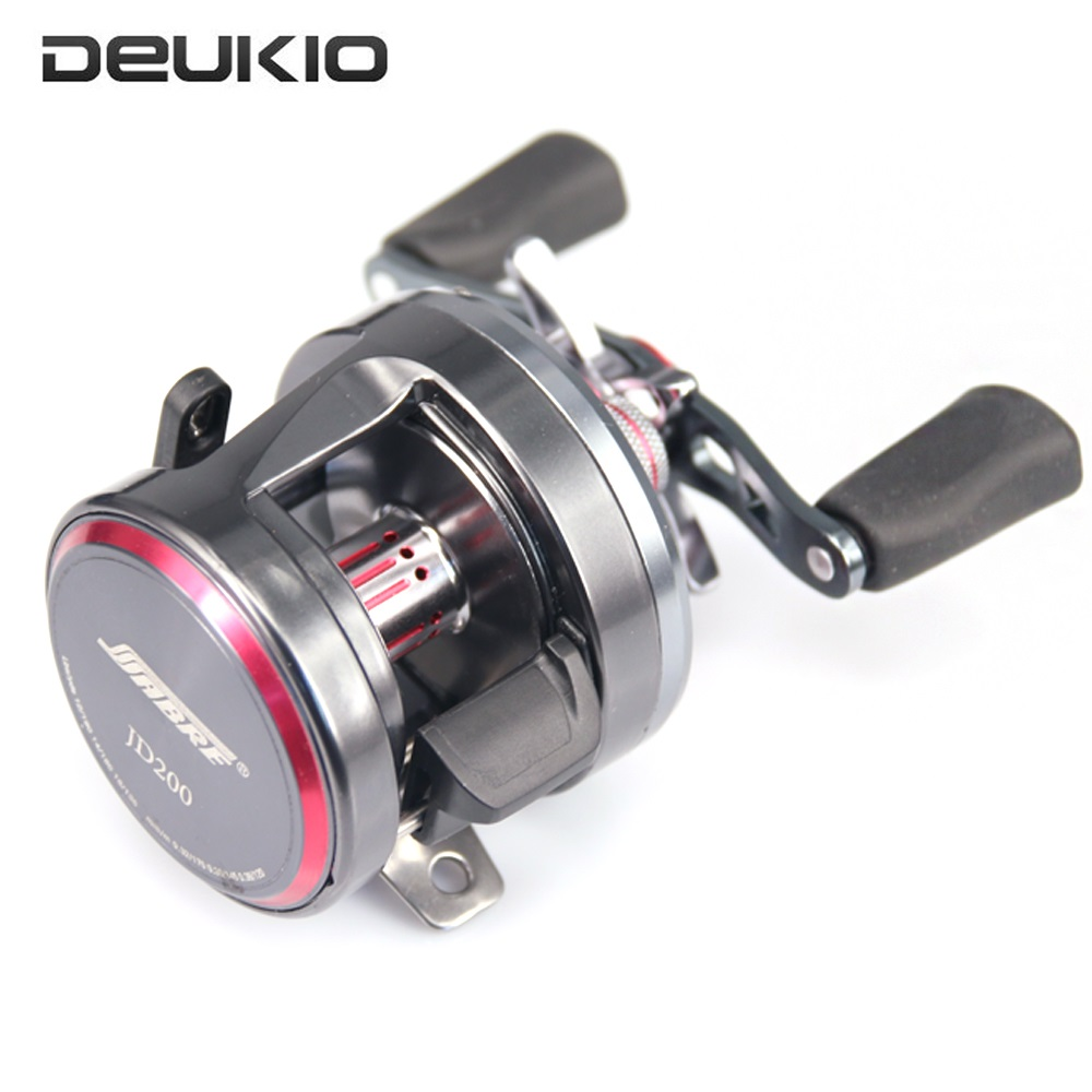 DEUKIO Bait Casting Fishing Reel 7 1 BB Trolling Brake System Drum Wheel Saltwater Pesca Sea