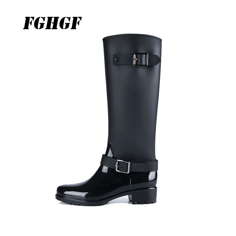 New style rain shoes for women Waterproof boots Antiskid shoe Women with adult water boots Super advanced rain shoes advanced style