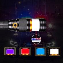 Tactical flashlight 18650 cree t6 Camping Lanterna Torch Lampe Torche Ultra Puissante Taschenlampe Zaklamp Help LED Flashlight цена