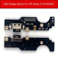 Echt Usb Charger Jack Dock Board Voor Zte Nubia Z17S NX595J Opladen Plug Connector Board Vervangende Onderdelen