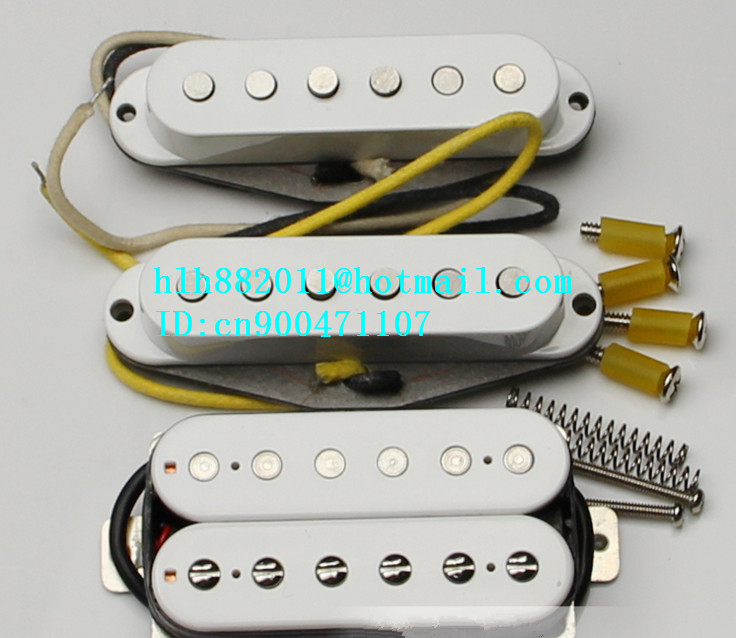 new electric guitar pickup in white made in South Korea ART-30 free shipping new electric guitar semi closed pickup in chrome made in south korea hy 07