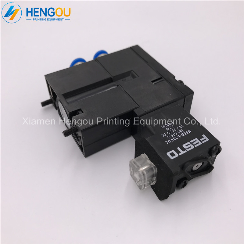 5 Pieces Free Shipping Hengoucn SM52 SM102 CD102 Solenoid Valve MEBH-4/2-AQ-6-SA M2.184.1121/055 Pieces Free Shipping Hengoucn SM52 SM102 CD102 Solenoid Valve MEBH-4/2-AQ-6-SA M2.184.1121/05
