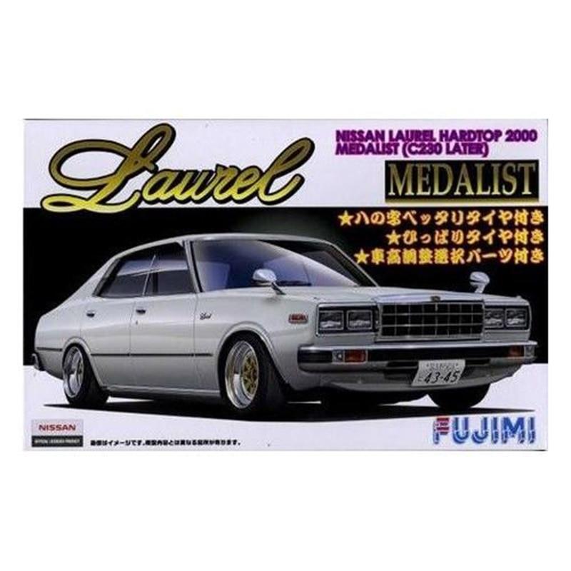 Fujimi 03860# ID-169 1/24 Scale Model Car Kit LAUREL HARDTOP 2000 Medalist C230 Later plastic model kit 1 18 otto renault espace ph 1 2000 1 car model reynolds