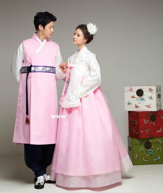 Premium Korean Hanbok Custom Made Woman Man Traditional Hanbok Dress ...