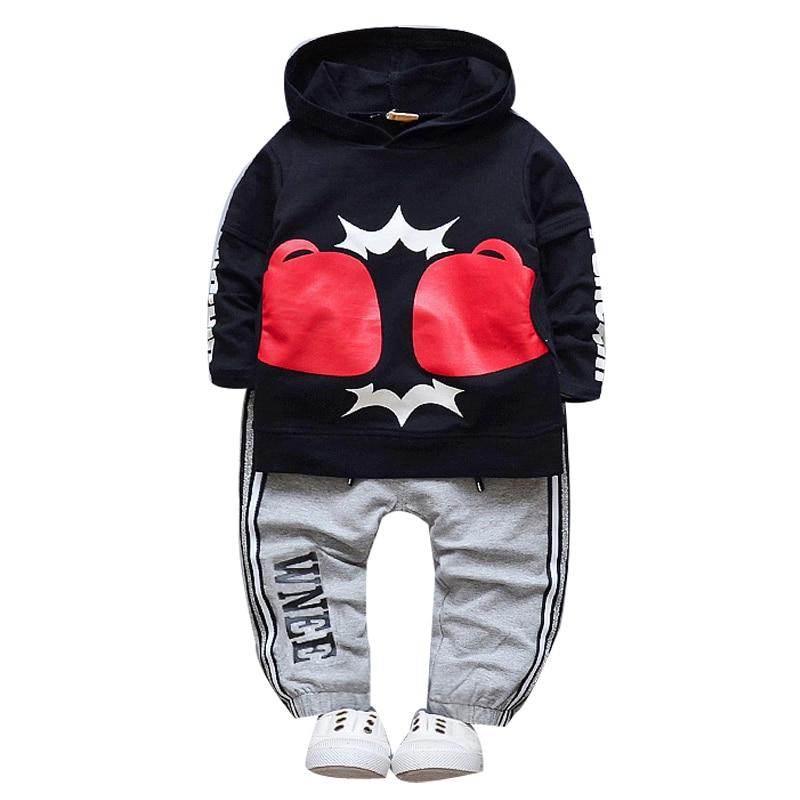 98c145bcb 2pcs Set Spring Autumn Baby Boys Clothing Set Infant Baby Boy Sport ...