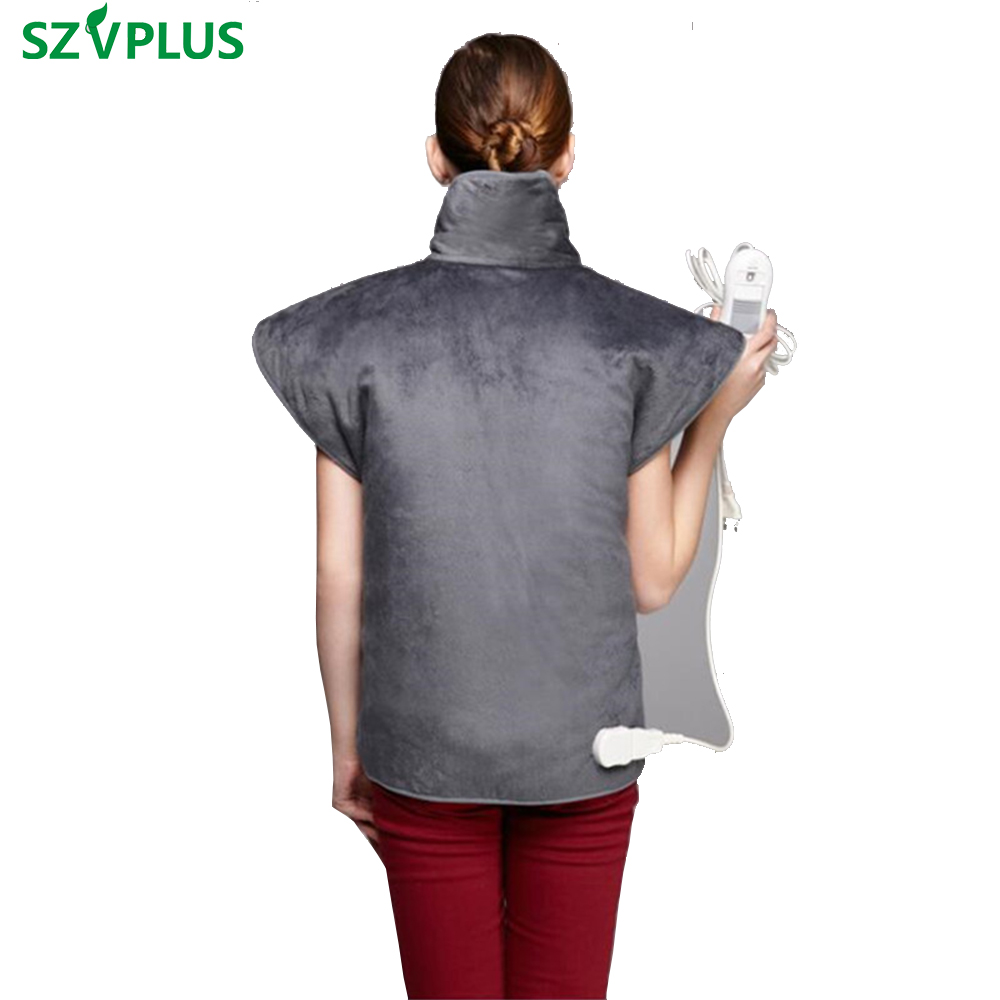 Far Infrared waist Back Physiotherapy vest heating Shoulder Pad Vest Heated Shawl For Lumbar spondylitis Periarthritis quality physiotherapy electric heating vest back support shoulder pad vest heated shawl suitable for back pain relief