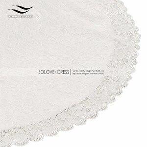 Image 5 - Свадебное платье, реальные фотографии, белое кружевное дешевое свадебное платье Русалка со шлейфом, 2018, винтажное свадебное платье с поясом, 2018