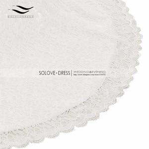Image 5 - Bridal Wedding Gown Real Photos White Lace Cheap Mermaid Wedding Dress Train 2018 Vintage Sash vestido De noiva 2018 SLD W001