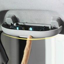 VCiiC-soporte para gafas de sol, caja de almacenamiento para Mitsubishi Asx Lancer 10 9 Outlander Pajero para Ford Focus 3 y KIA