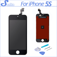 Replacement LCD For IPhone 5S LCD Display Touch Screen Digitizer Assembly Ecran Pantalla In Black Free