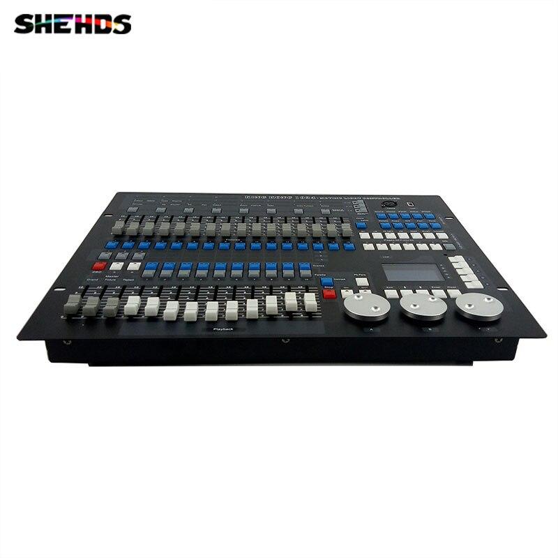 Transporte rápido 1024 Canais DMX512 DMX Console Do Controlador de DJ Discoteca Equipamentos Boa para Par LEVOU SHEHDS Movendo A Cabeça de Iluminação de Palco