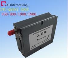 GSM/GPRS DTU Q2687 GPRS DTU ( Data Terminal Unit ) M2M free shipping