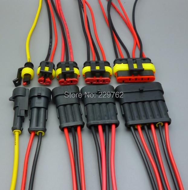 1.5MM Plug Automotive Electrical Wire Connector HID Plug