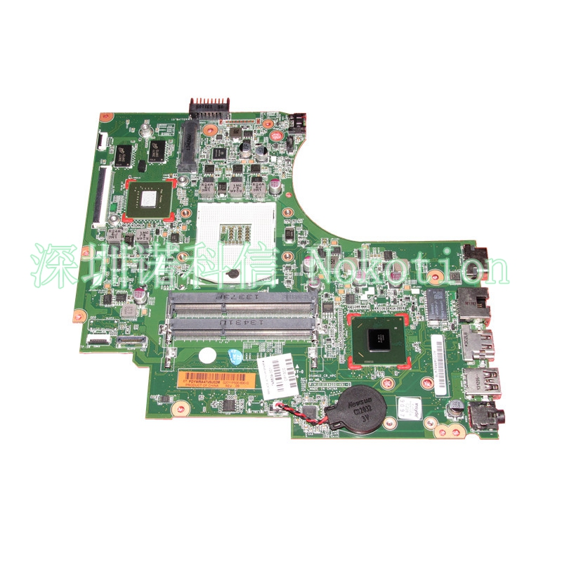 NOKOTION 748839-501 for HP 15-D 250 G2 laptop Motherboard DIS graphics GT 820M 1G S989 system board 748839-001 Mainboard nokotion original 773370 601 773370 001 laptop motherboard for hp envy 17 j01 17 j hm87 840m 2gb graphics memory mainboard