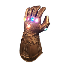 LED Thanos Infinity Gauntlet Avengers War Gloves Superhero Action Figure Pvc New Collection Figures Toys