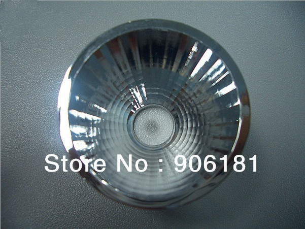 UX-45 High quality COB Reflective Cup, Size:45X29.5mm, 15 degree, Clean Surface, PC Materials , Aluminum Coating