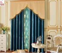 Custom velvet curtains ,trim is free , curtain with punching or hook ,38 colors available