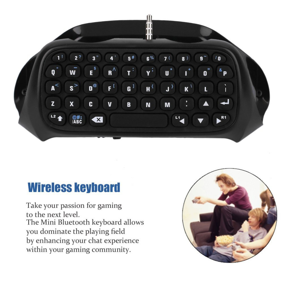 Game Keyboard Bluetooth Wireless Gaming Keyboard 47 Keys Gamer Keyboard For PC Laptop For PS4 Gamer Bluetooth V3.0 120 MA/ 5V