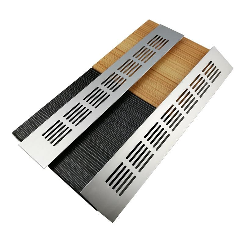 15cm-60cm Aluminum Alloy Air Vent Perforated Sheet Web Plate Ventilation Grille For Closet Shoe cupboard Decorative cover