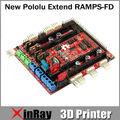 Бесплатная доставка продавать новые Pololu щит RAMPS-FD для Arduino из-за 3D принтер контроллер DPB-06659 для 3D принтер GT015