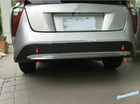 ABS For Toyota Prius 2016 2017 Rear Bumper Protection Cover Trim 1 Pcs